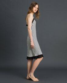 'Tury x Twinset' polka dot slip White Polka Dot Print Woman 192LL21EE-03