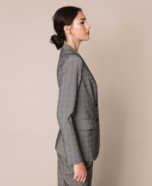 Glen plaid blazer Multicolour Glen Plaid Woman 201MP2060-03