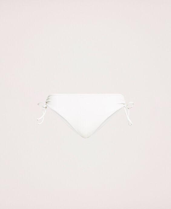 Bikinihose mit Tunnelzug und Schnüren
