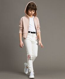 Bull skinny trousers with embroideries Off White Child 191GJ2580-02