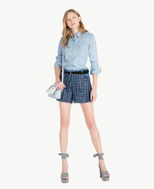 Denim shirt Denim Blue Woman JS82U1-05