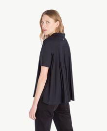 Poplin shirt Black Woman TS82ZD-03