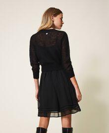Robe nuisette et pull en mohair Noir Femme 202TP3262-03