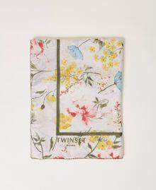 Floral kefiah Meadow Flower Print Woman 211TO5047-01