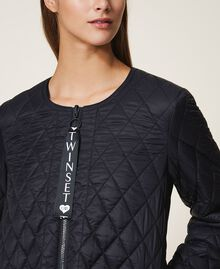 Ultra light quilted puffer jacket Black Woman 202LI2AHH-04
