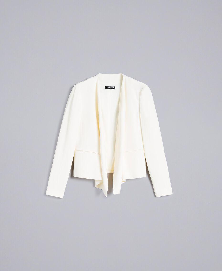 Envers satin jacket White Snow Woman TA824G-0S