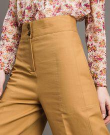 Pantalon en coton technique Brun Moyen Femme 191TP2181-05