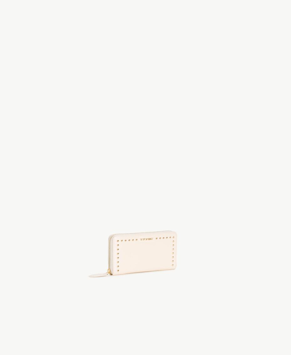 Studded wallet Light Ivory Woman AS8PMC-02