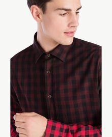 Camicia check Rosso / Nero UA72E1-04