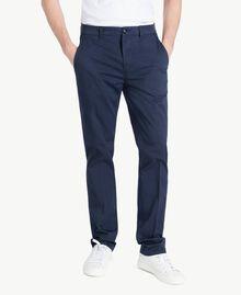 Pantalone chino Blu Blackout Uomo US824N-01