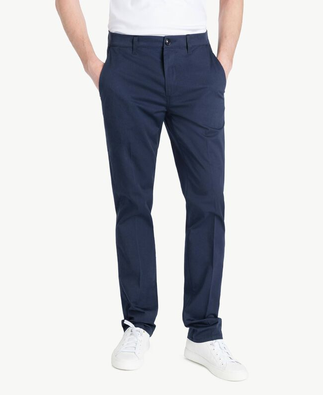 Chino pants Blackout Blue Man US824N-01