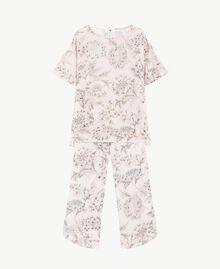 Printed pyjamas Pinkie Sugar Macrofloral Print Woman LS8DHH-01