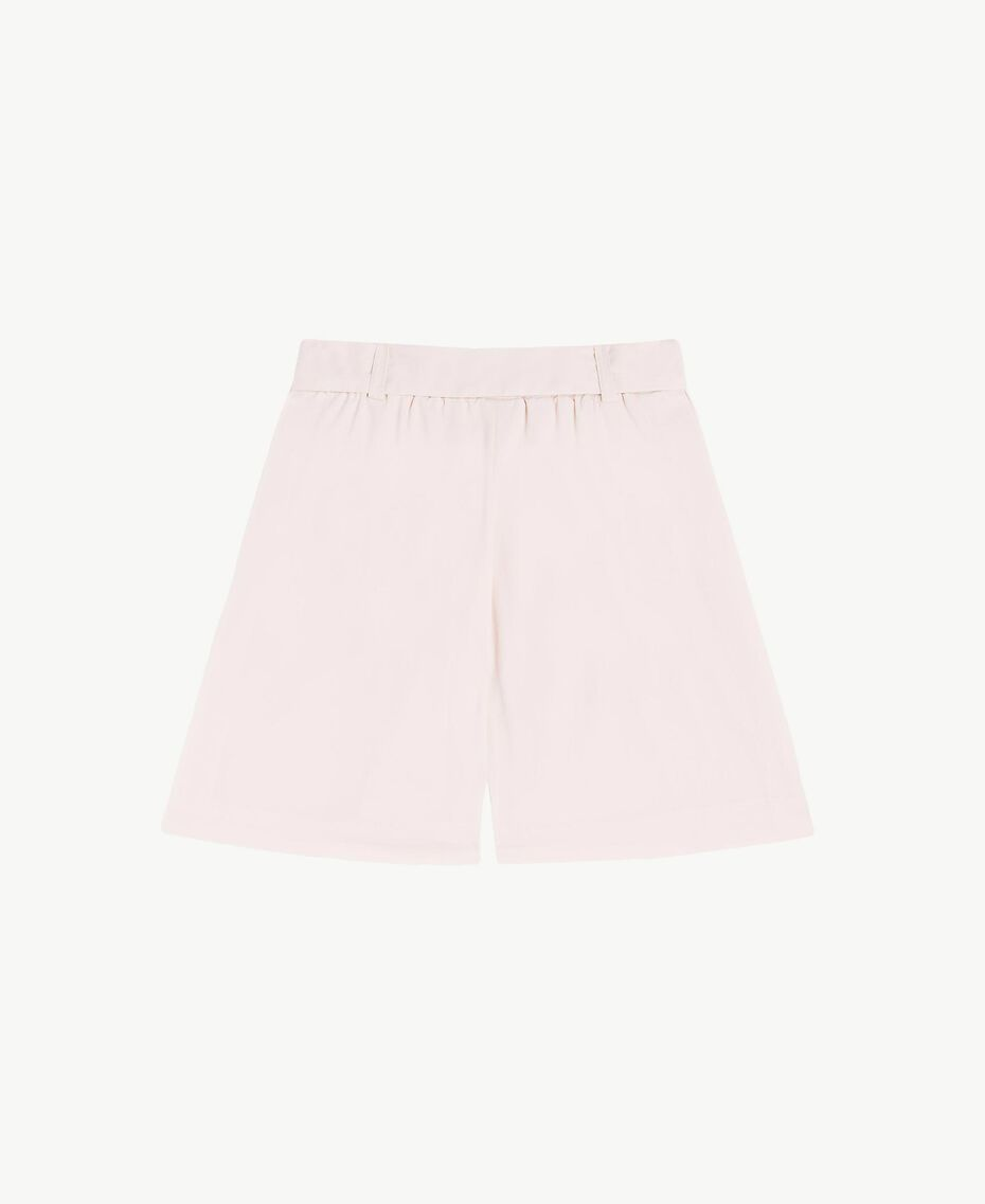 Poplin trouser skirt Bud Pink Child FS82QN-02