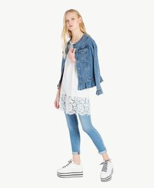 Skinny jeans Denim Blue Woman JS82WE-05