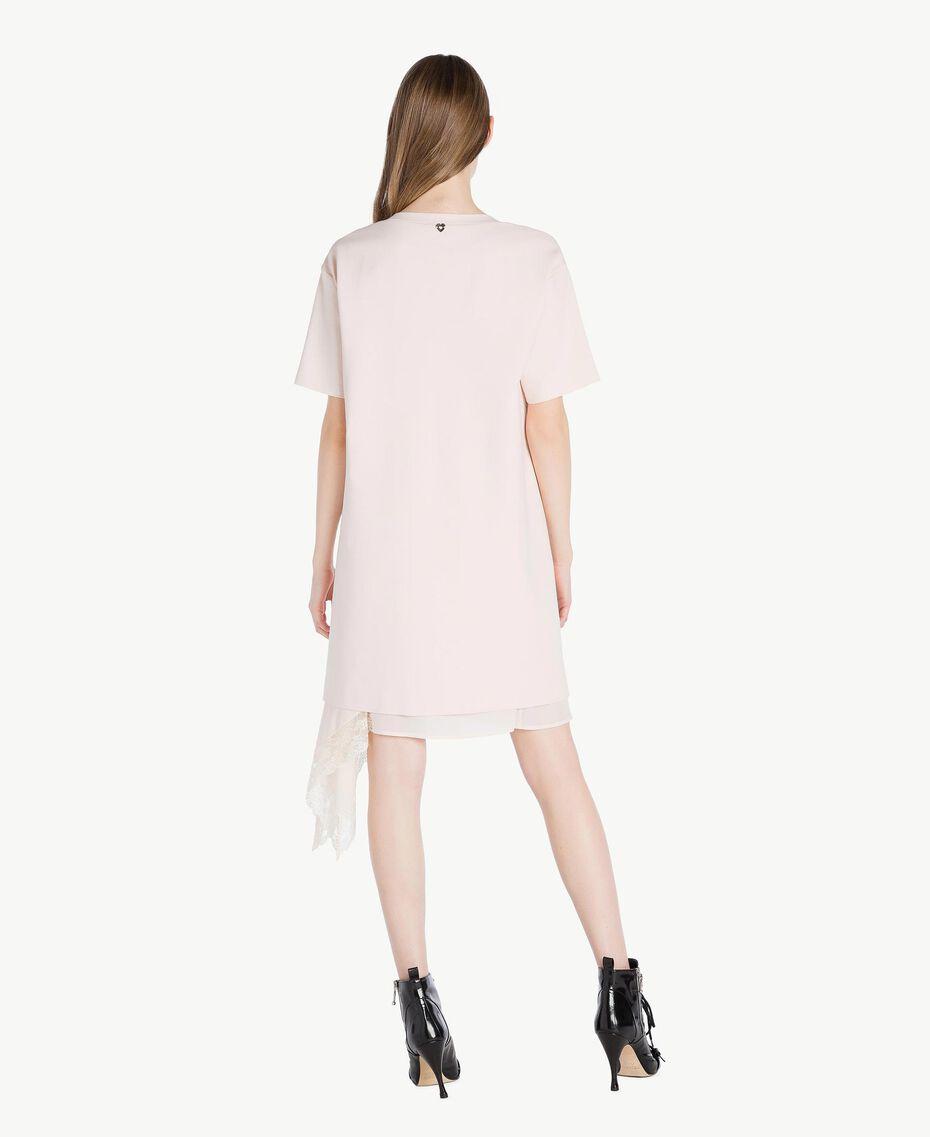 Lace dress Pale Ecru Woman PS828P-03
