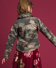 Camouflage print shirt Camouflage Print Child 192GJ2160-03