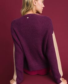 "Alpaca wool blend jumper ""Pink Gloss"" Woman 192MT3074-03"