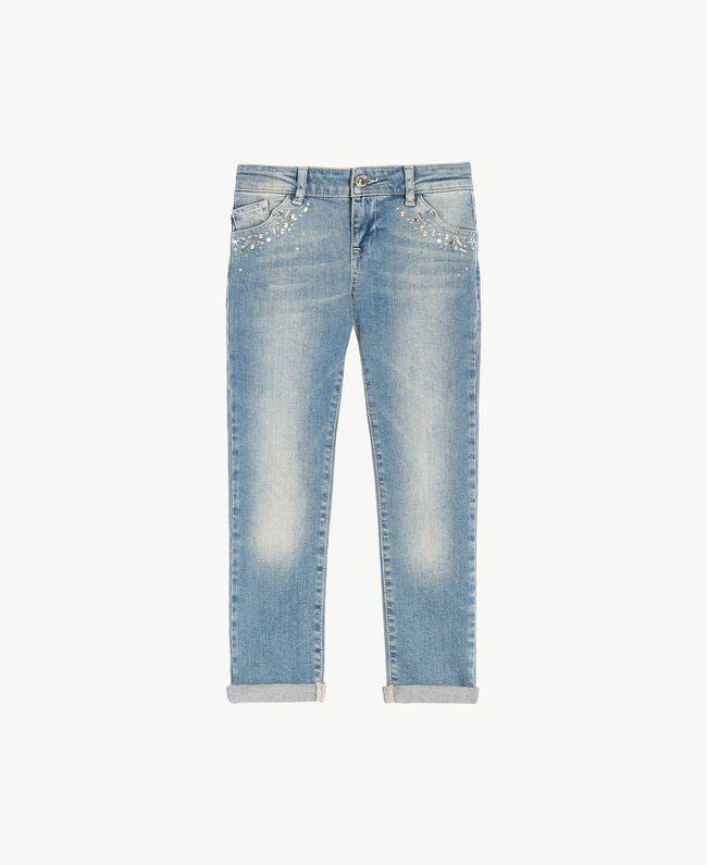 "Skinny-Jeans Mittleres ""Denimblau"" Kind GS82T3-01"