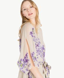 Printed kaftan Violet Edge Print Woman PS82XN-04