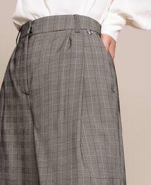 Glen plaid trousers Multicolour Glen Plaid Woman 201MP2062-05