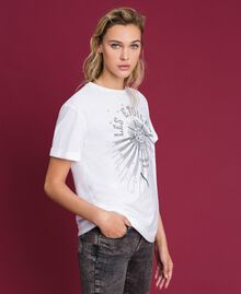 T-shirt with print White Woman 192TT2561-02