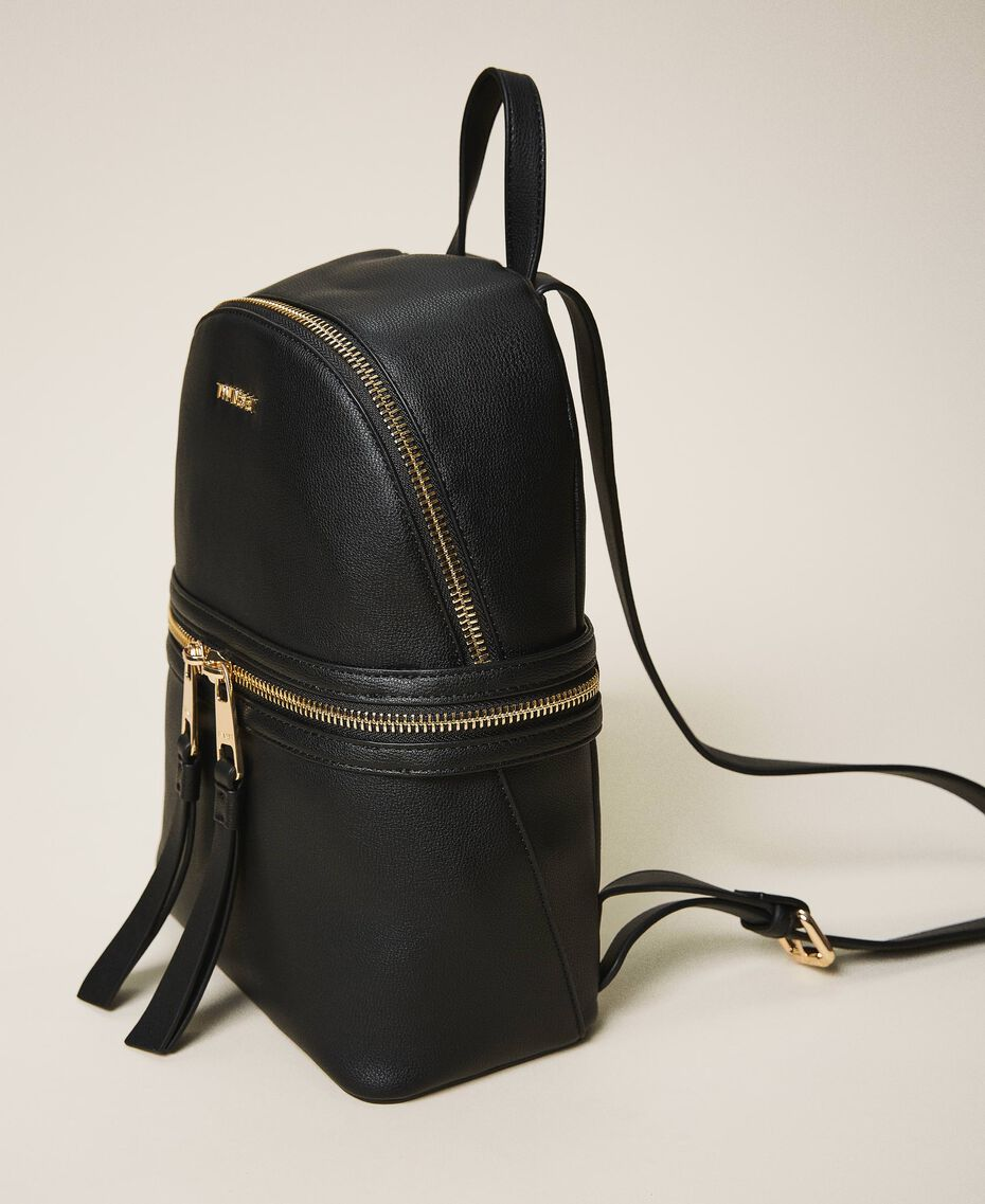 New Cécile backpack with all around zip Turtledove Woman 202TB7184-02