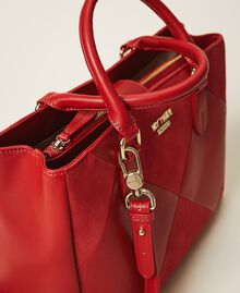 Сумка-шоппер из искусственной кожи Красный Черешня женщина 202MA7020-01