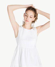 Robe popeline Blanc Femme TS821F-04