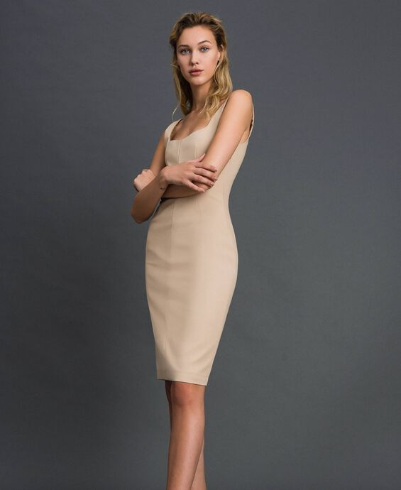Mid-length sheath dress