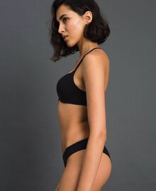 slip brésilien Noir Femme LCNN77-02