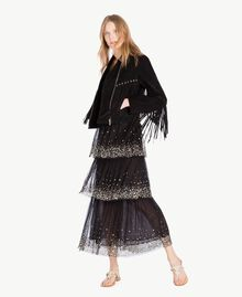 Robe tulle Noir Femme TS82EG-05