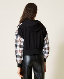 Felpa check in full paillettes Check Full Paillettes Donna 212AP2510-05