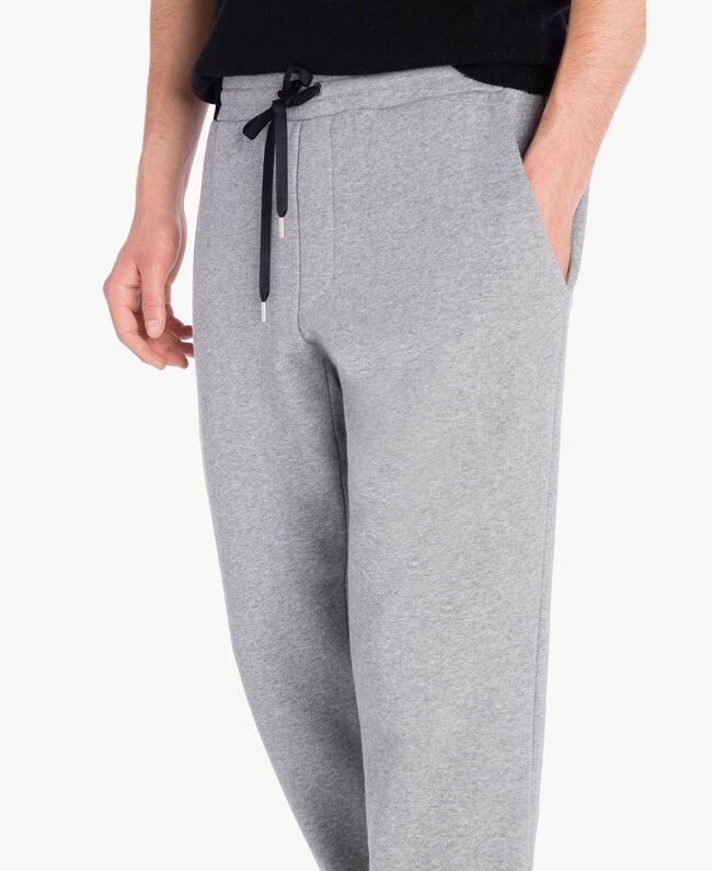 Jogging trousers Melange Grey Male UA72A3-04