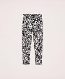 Animal print cigarette trousers Lily Animal Print / Black Woman 201MP2452-0S