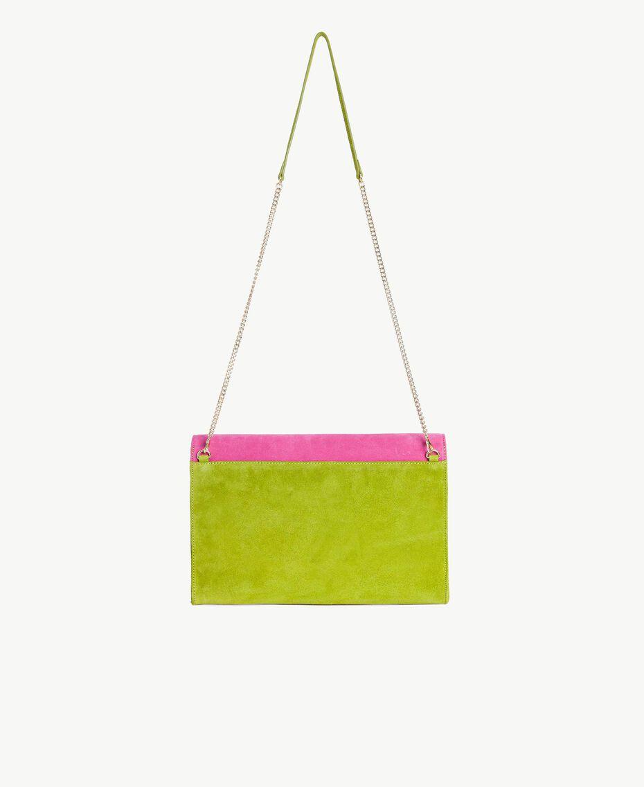 TWINSET Sac à bandoulière rabat Multicolore Kiwi / Rose Provocateur / Fuchsia Femme OS8TDP-03