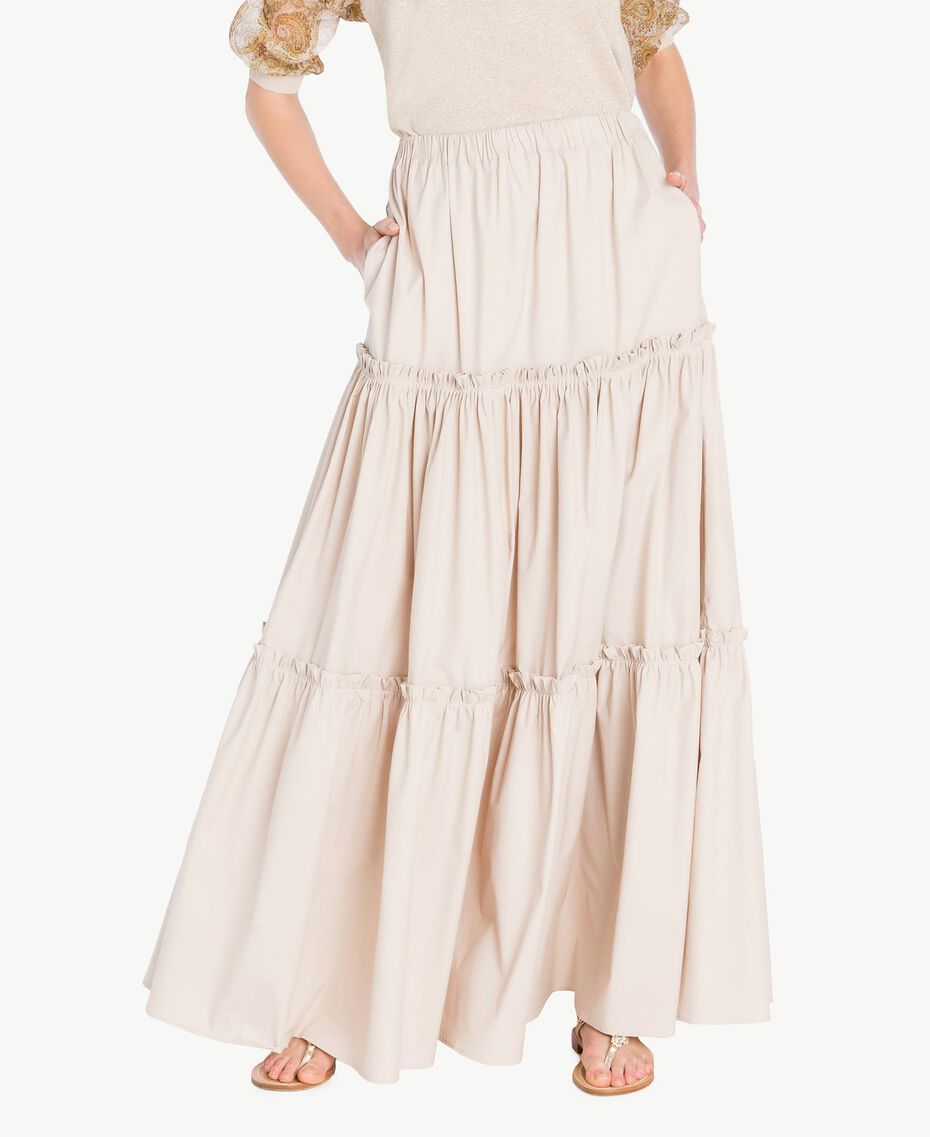 Long poplin skirt Dune Woman TS821V-01