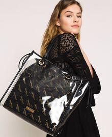 Сумка-шоппер с сумочкой-вкладышем с логотипом Белый женщина 201TA7180-0S