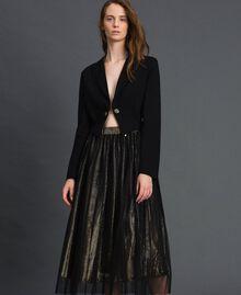 Blazer asymétrique Noir Femme 192MT2281-04