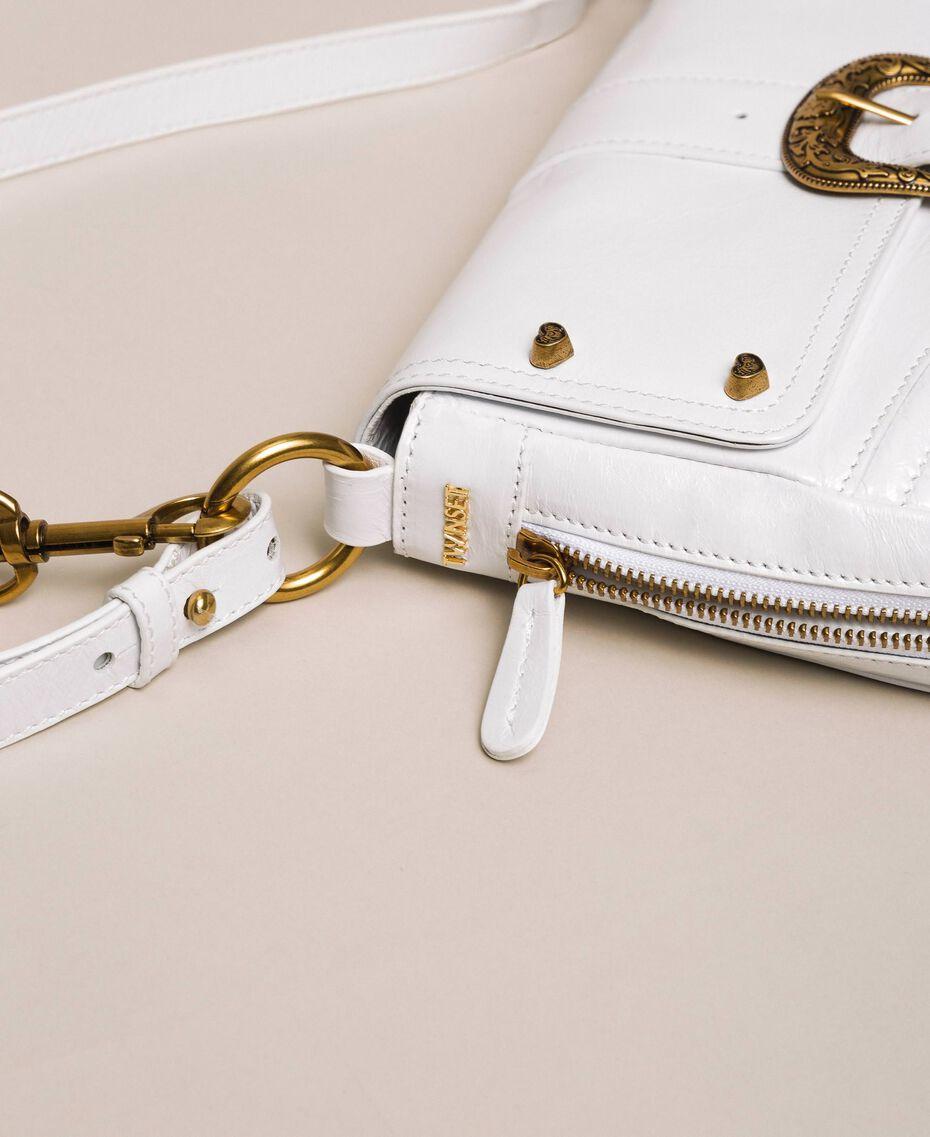 Large Rebel shoulder bag White Snow Woman 201TA723J-03
