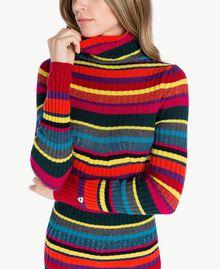 Jersey de rayas A Rayas Multicolor PA737P-03