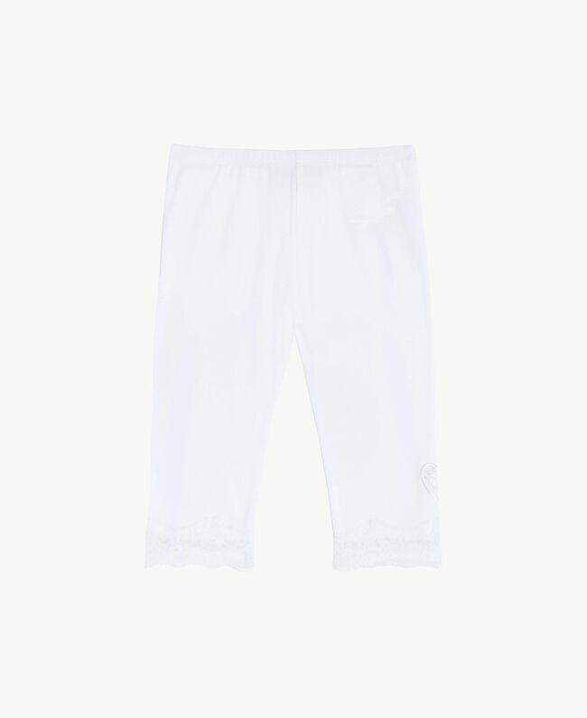 """Legging dentelle Blanc """"Papers"""" Enfant FS82BB-01"""