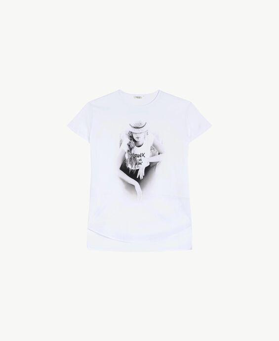 Printed maxi T-shirt