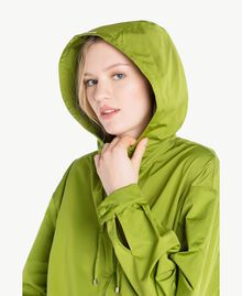 "Technical fabric jacket ""Lime"" Green Woman PS82J5-04"