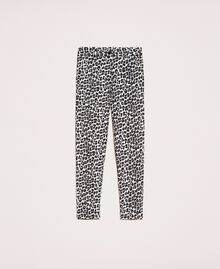 Animal print cigarette trousers Lily Animal Print / Black Woman 201MP2452-0S