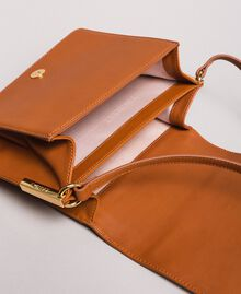Leather Bea shoulder bag Leather Brown Woman 191TO8261-05