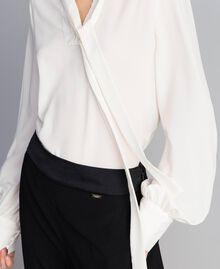 Drainpipe trousers with braces Black Woman SA82DE-05