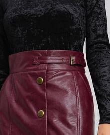 Faux leather midi skirt Red Velvet Woman 192TT203B-04