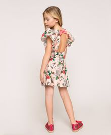"Printed poplin dress ""Savannah"" Pink Print Child 201GJ2330-03"