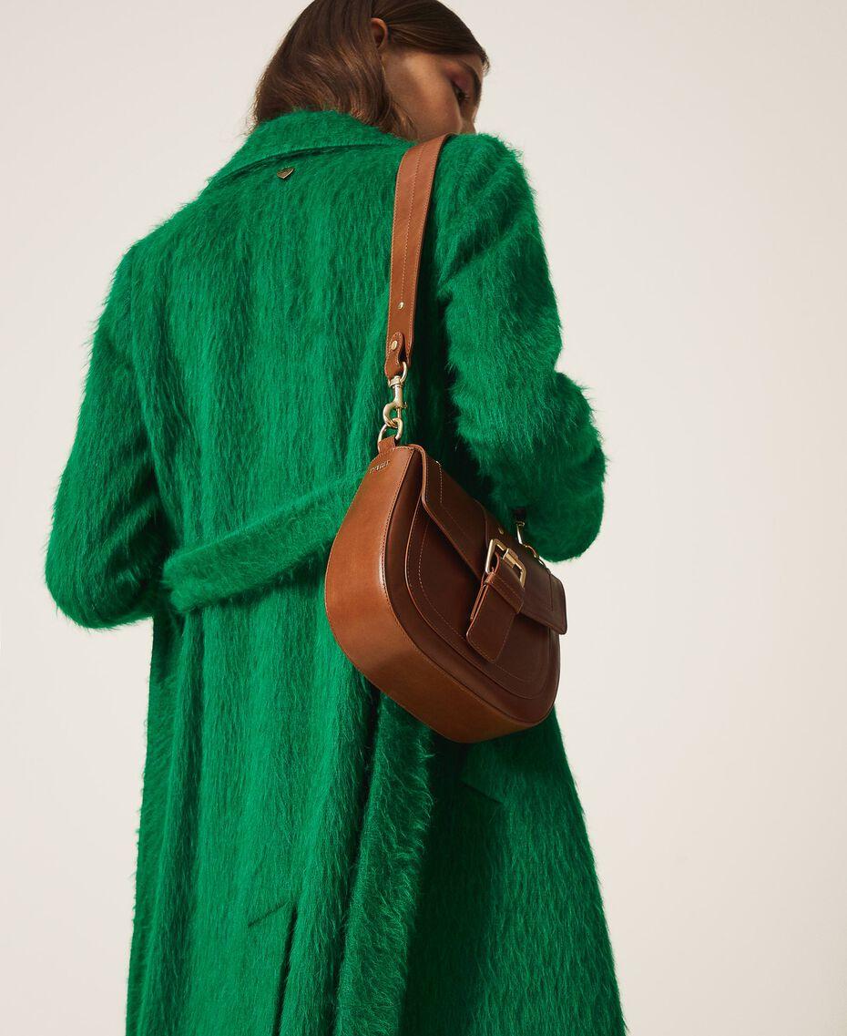 Круглая сумка через плечо Rebel Кожа женщина 202TD8172-0S
