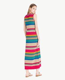 Lurex dress Multicolour Lurex Stripes Woman TS833N-03